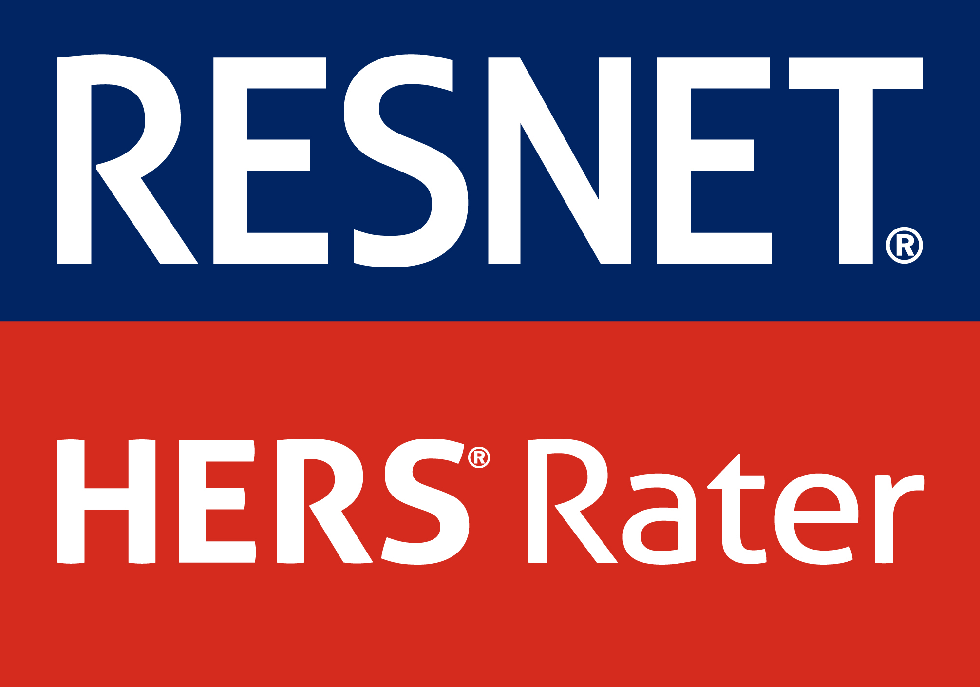 We are certified HERS Raters and members of RESNET